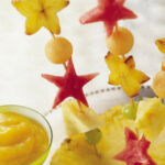 Fruit Kabobs With Tropical Fruit Coulis Recipe …