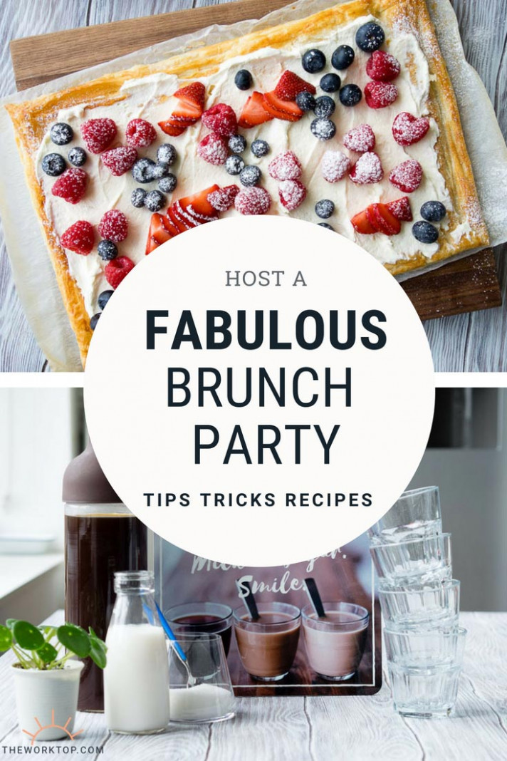 Fun Ideas for Hosting a Brunch Party - Inspiration & Recipes ...