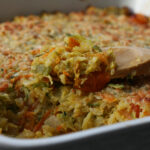Garden Rice Casserole – First Look, Then Cook