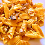 Garganelli Egg Pasta Quills With Sausage Ragù And Fresh Wi …