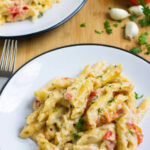 Garlic And Herb Penne Pasta – Julie's Eats & Treats