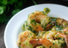 Garlic Butter Shrimp Recipe   bursting with garlic and ready ...