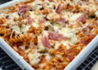 Garlic Chicken & Prosciutto Pasta Bake | Slimming
