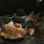Garlic Herb Crescent Rolls 7