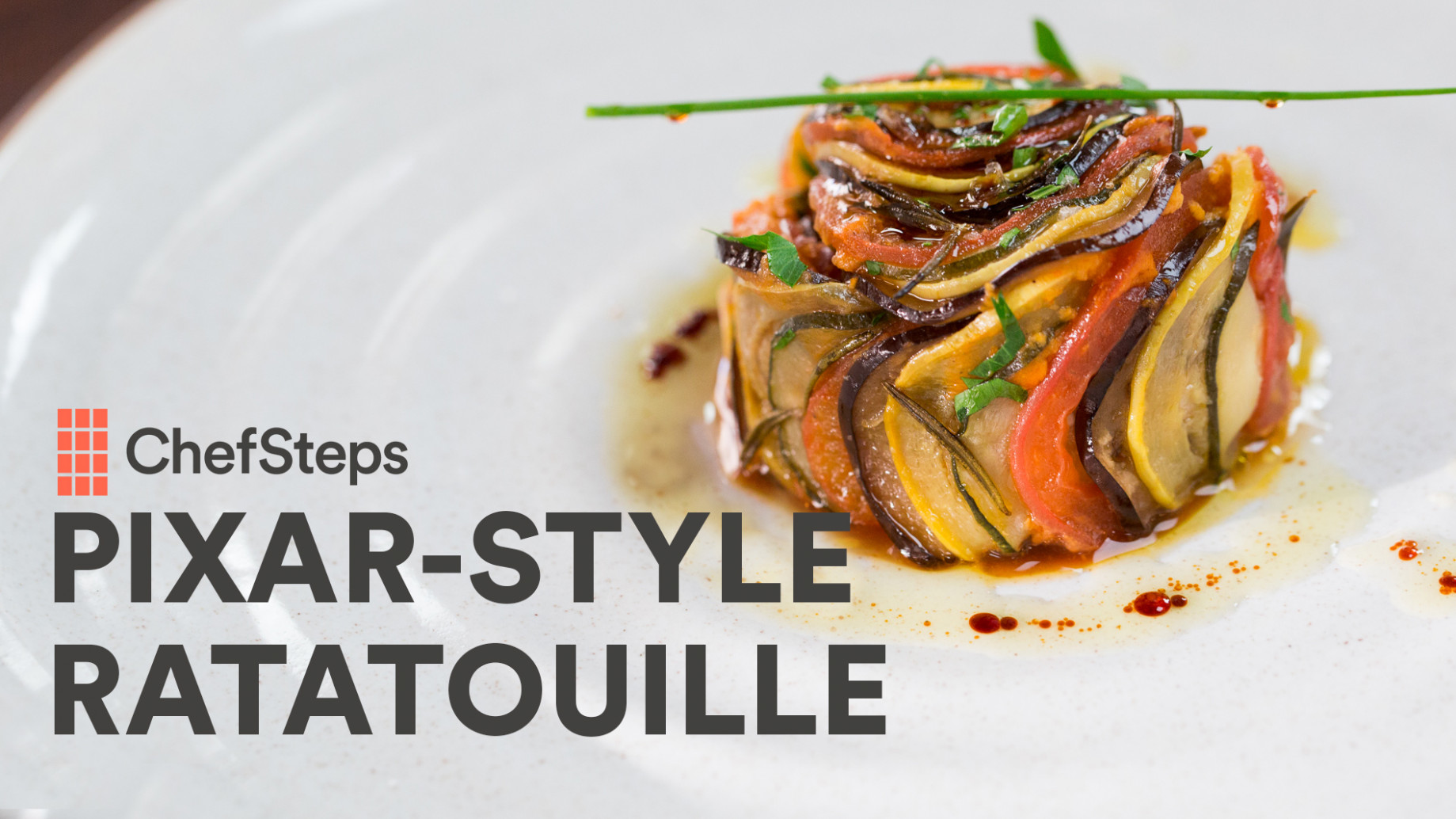 Get Creative with Pixar-Style Ratatouille | ChefSteps ...