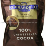 Ghirardelli Chocolate Unsweetened Cocoa Pouch, 8 Ounce …
