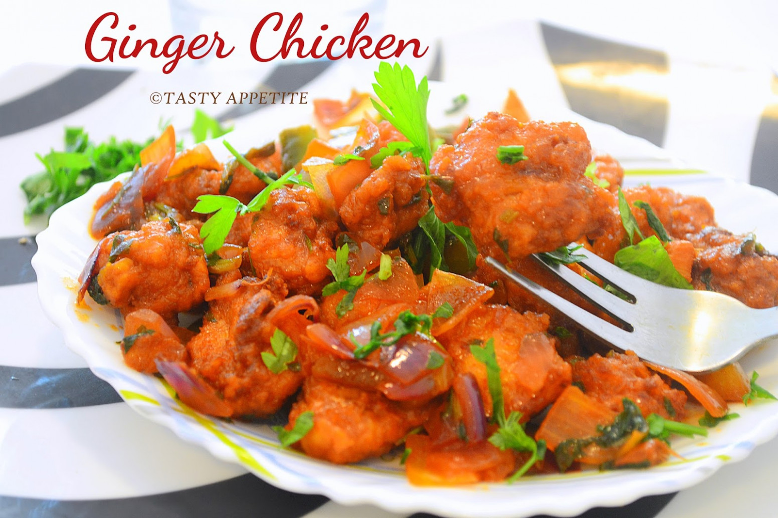 Ginger Chicken Recipe / How to make Ginger Chicken / Indo ...