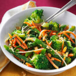 Ginger-Sesame Steamed Vegetable Salad Recipe | Taste of Home