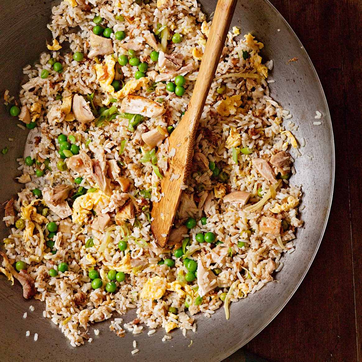 Gingery Chicken Fried Rice