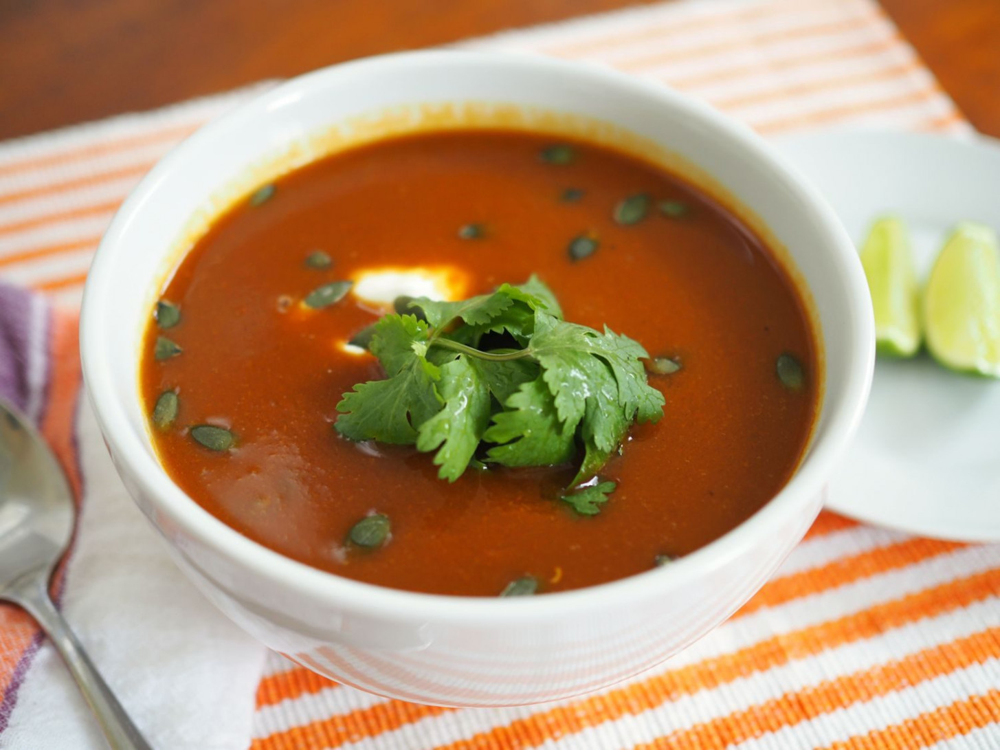 Give Butternut Squash Soup a Boost With Mexican ...
