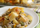 Good for You Meat and Potatoes Casserole