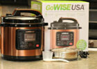 GoWise 9 Qt. Copper 9 in 9 Pressure Cooker Review   Thrifty ...