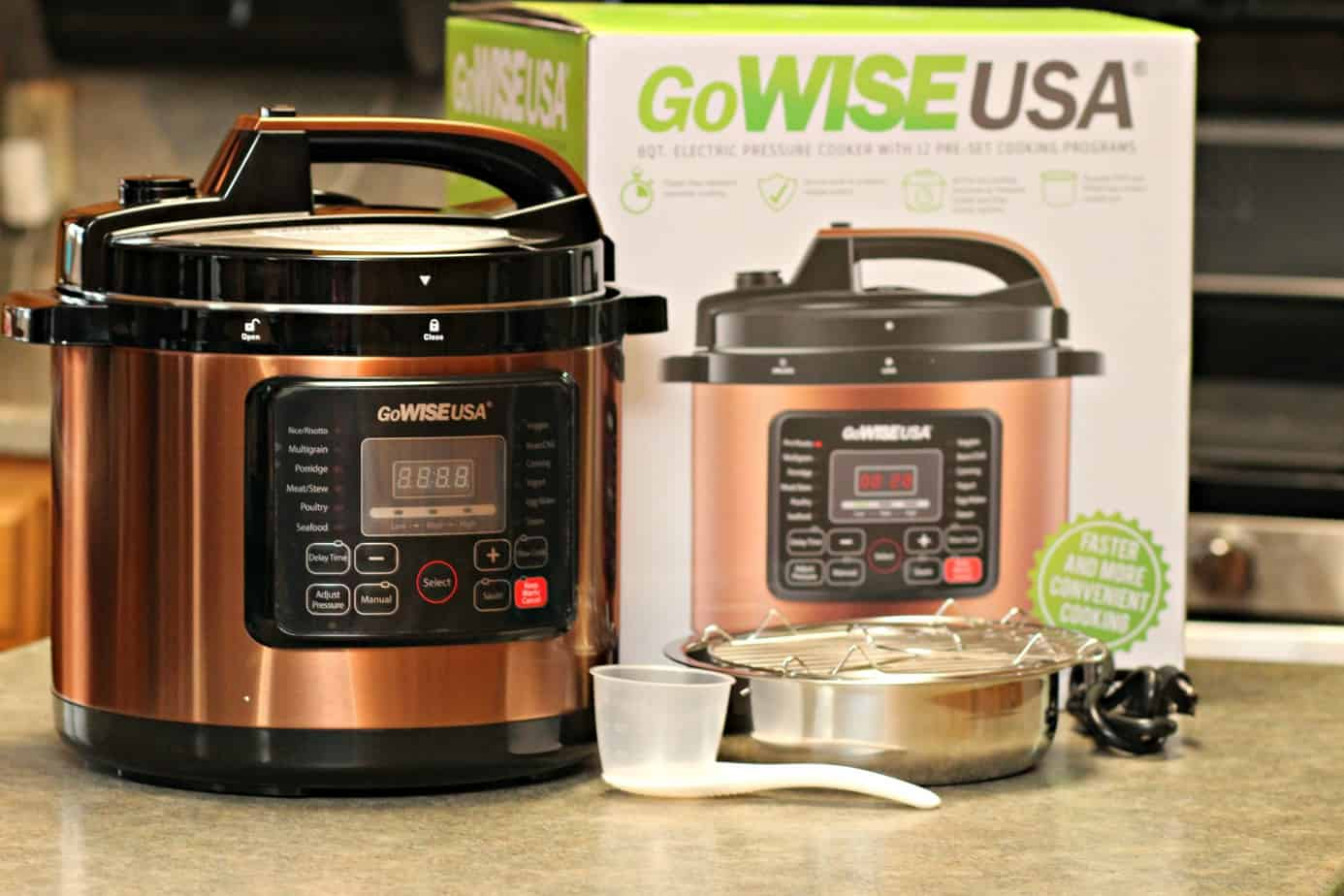 GoWise 9 Qt. Copper 9-in-9 Pressure Cooker Review - Thrifty ...