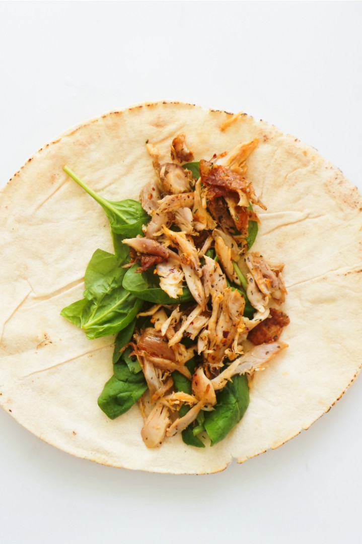 Greek Chicken Wrap Recipe - Her Highness, Hungry Me