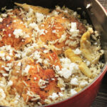 Greek Style Rice Pilaf With Chicken Thighs Recipe