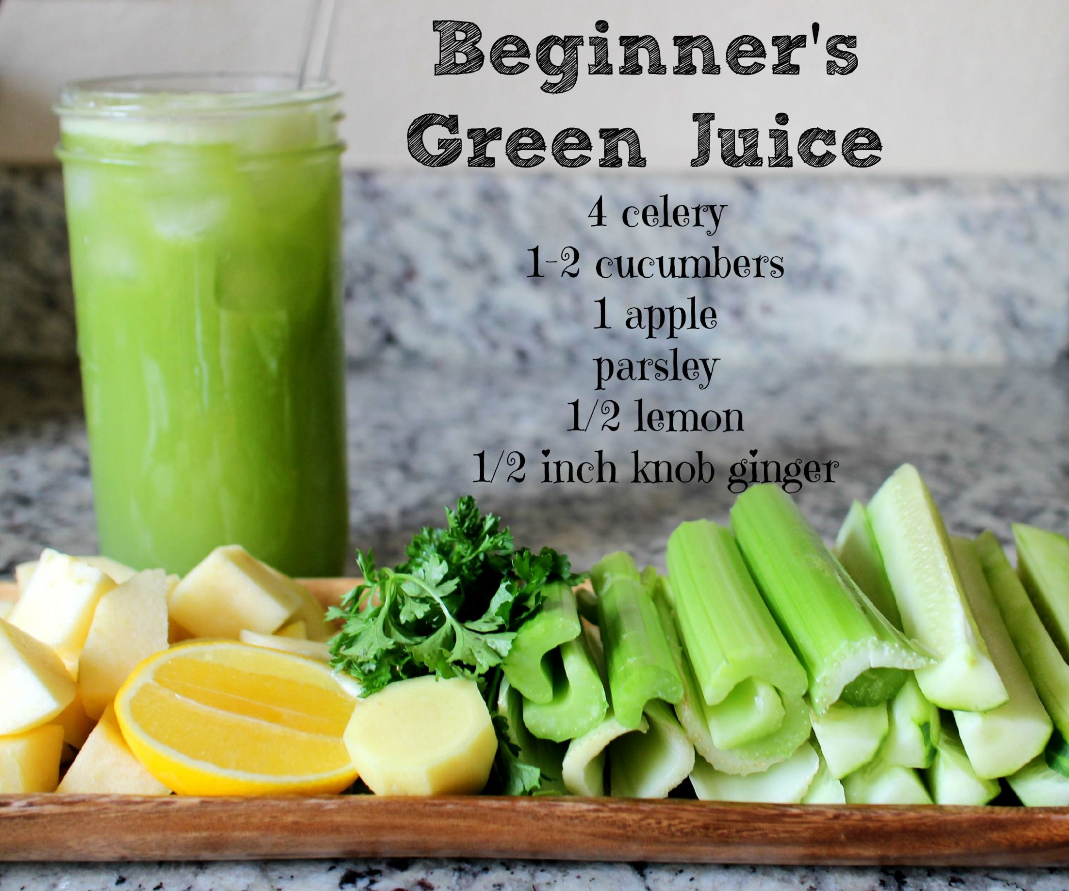 Green Juice Recipe for Beginners. Looks yummy and ...