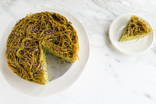 Green Spaghetti Pie Recipe - 101 Cookbooks
