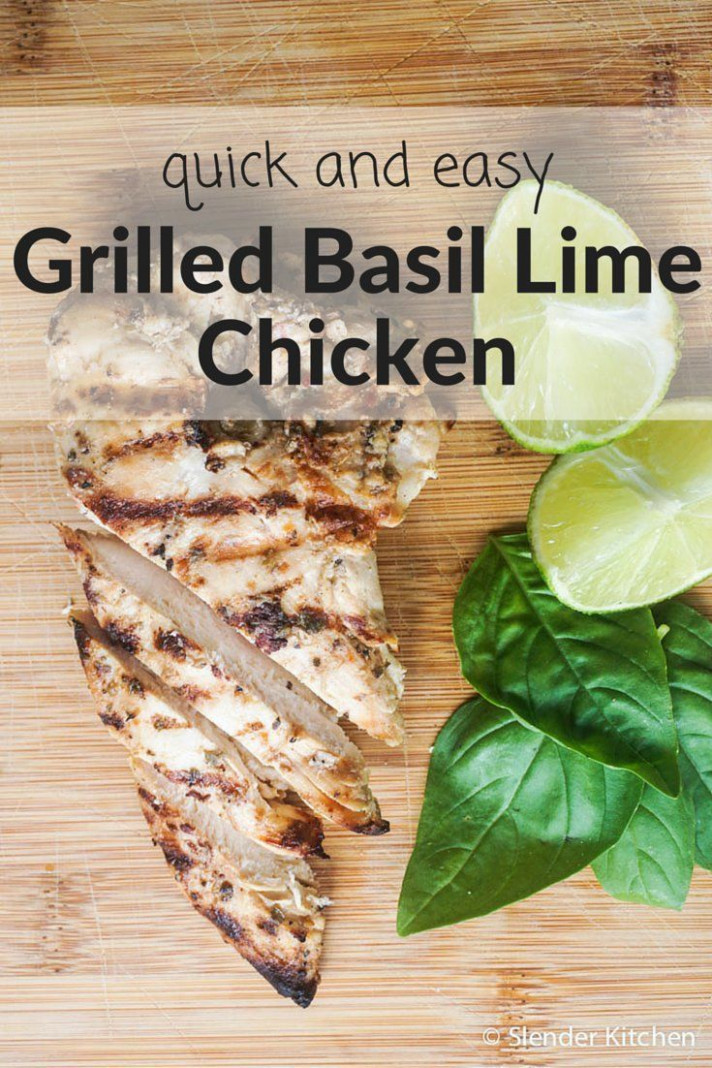 Grilled Basil Lime Chicken Breast | Recipe | Healthy ...
