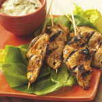 Grilled Buffalo Chicken Sticks Recipe