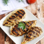 Grilled Chicken Breasts – Easy Grill Pan Method – A Pinch …