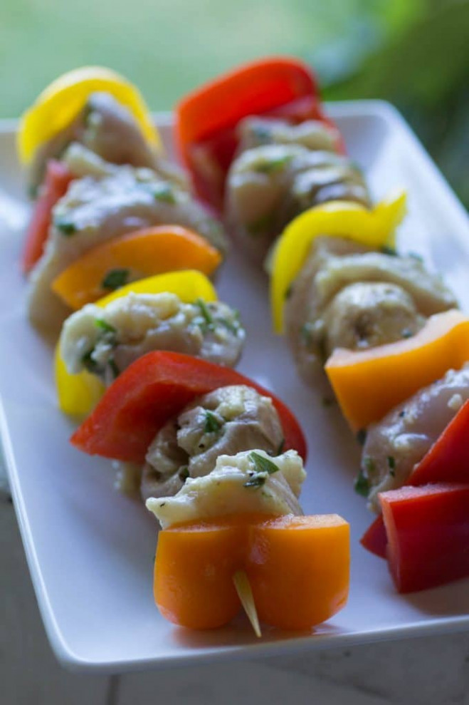 Grilled Chicken Kabobs Recipe | Easy Traeger Wood-Pellet ...
