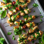 Grilled Chicken Kebabs With Chimichurri Sauce Recipe …