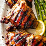 Grilled Chicken Thighs With Brown Sugar Glaze – Easy …