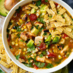Grilled Chicken Tortilla Soup - Cooking Classy