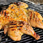 Grilled Chicken Under A Brick With Lemon, Garlic, And …