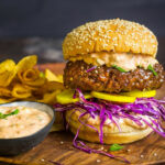 Grilled Korean Bulgogi Burgers With Kimchi Mayo And Pickled Daikon Recipe