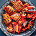 Grilled Red Curry Chicken And Bell Peppers Recipe …