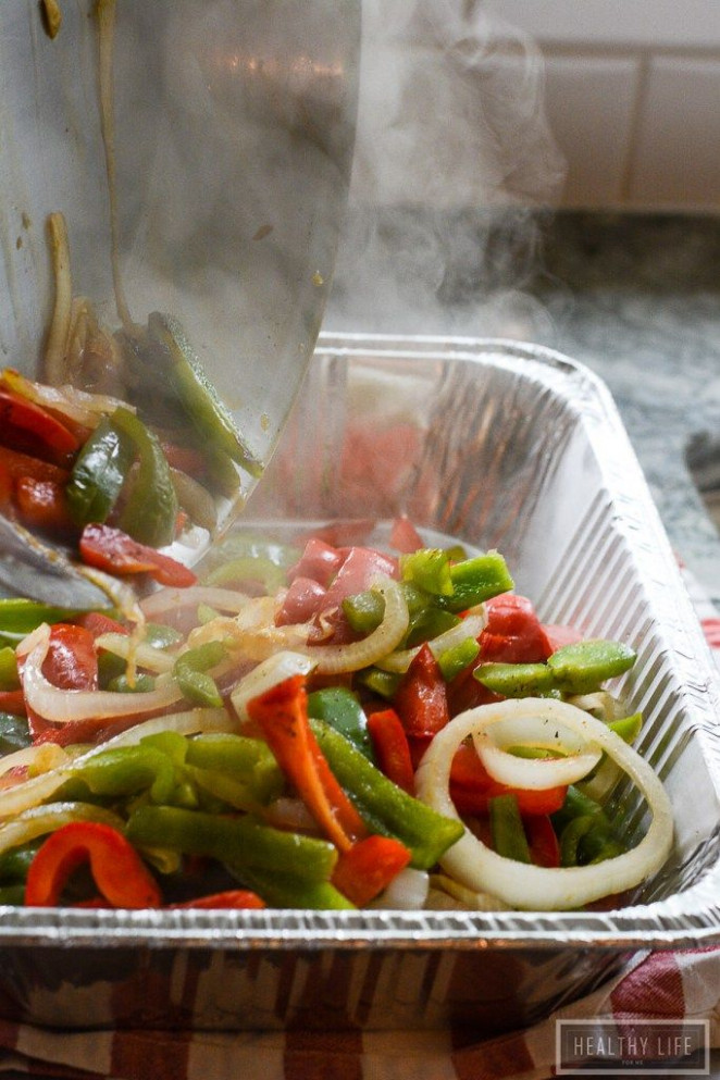 Grilled Sausage Peppers and Onion Recipe Casserole ...