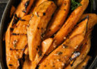 Grilled Zesty Sweet Potatoes Recipe