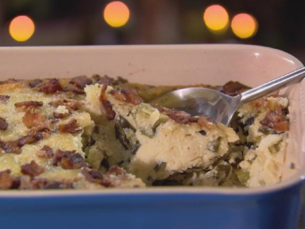 Grits and Greens Casserole Recipe | Trisha Yearwood | Food ...