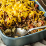 Ground Beef And Cabbage Casserole