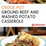 Ground Beef And Mashed Potato Casserole Recipes