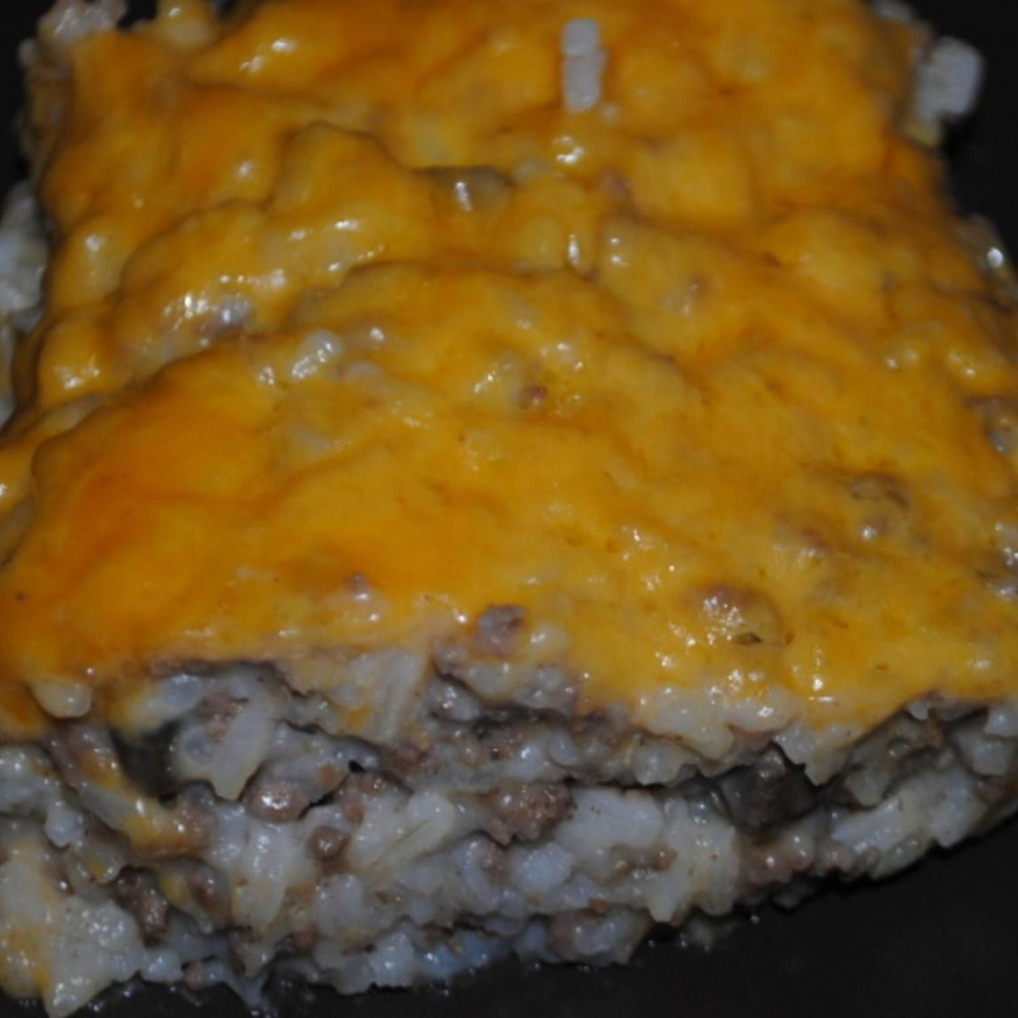 Ground Beef and Rice Casserole | Recipe in 2019 ...