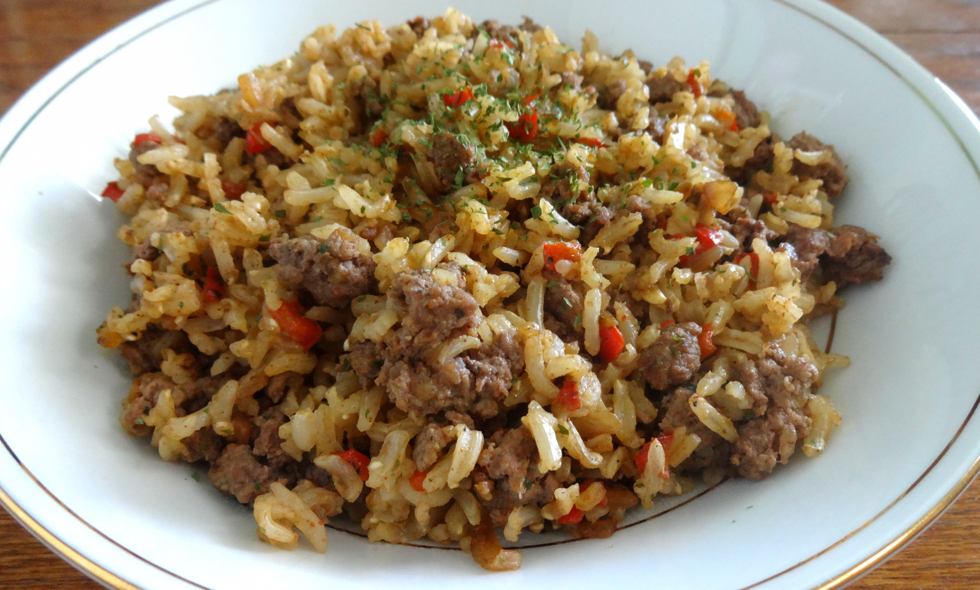 ground beef and rice recipes healthy