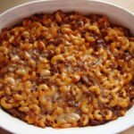 Ground Beef Macaroni Casserole