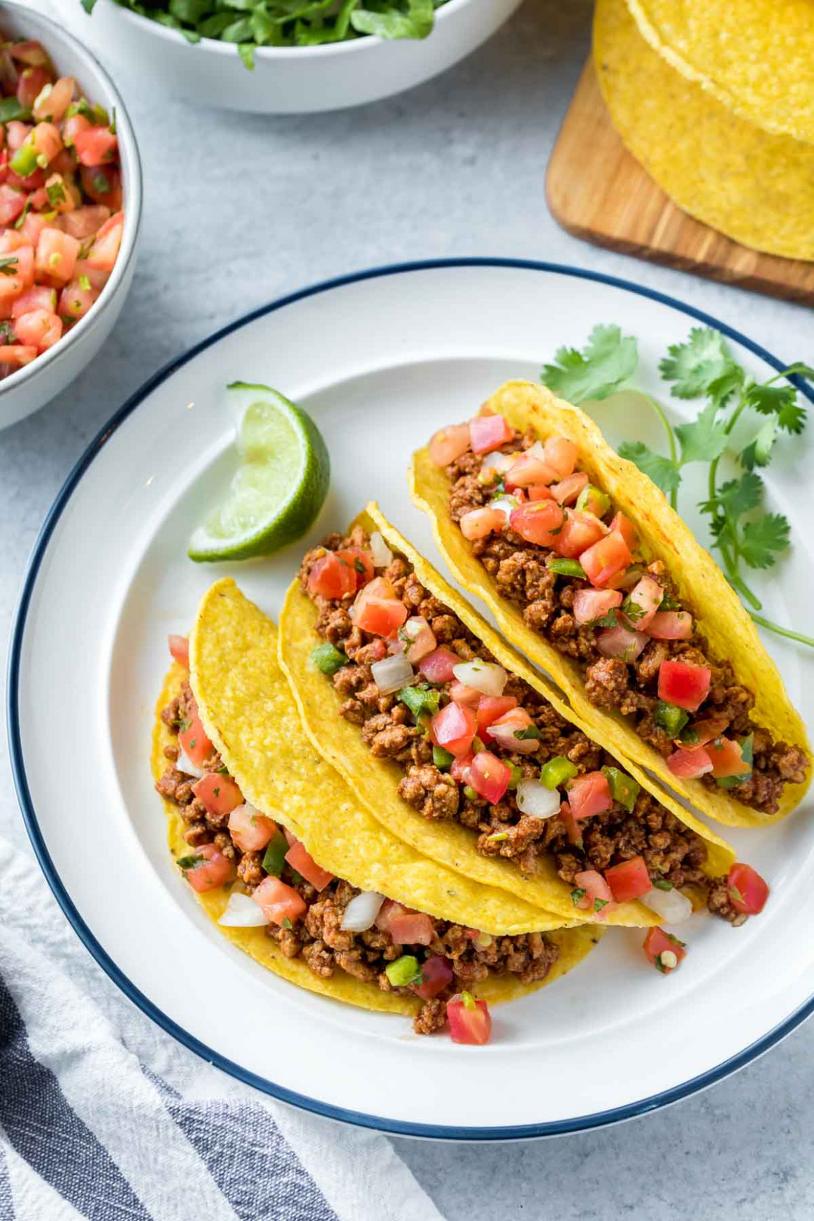 Ground Chicken Tacos Recipe (Dairy Free, Gluten Free ...