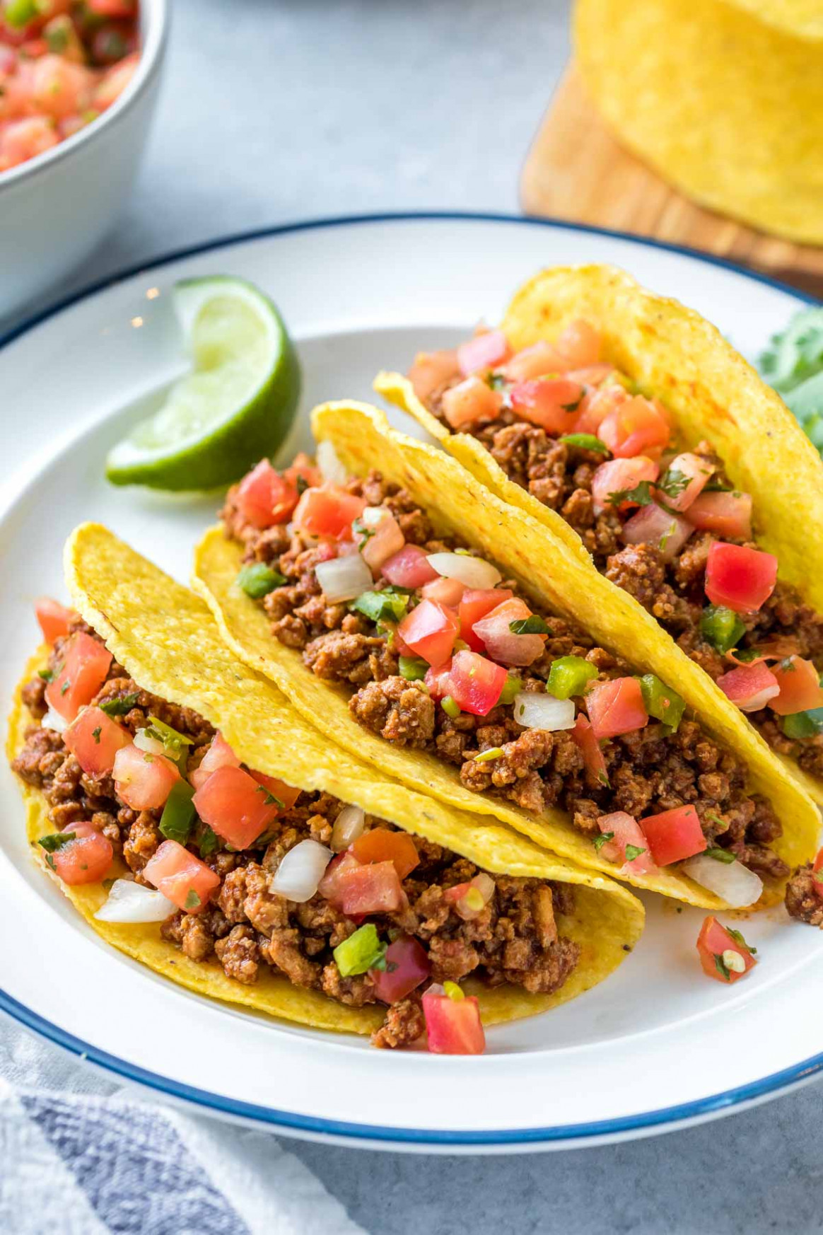 Ground Chicken Tacos Recipe