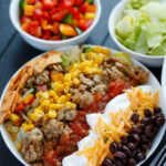 Ground Turkey Taco Salad – The Cookie Writer