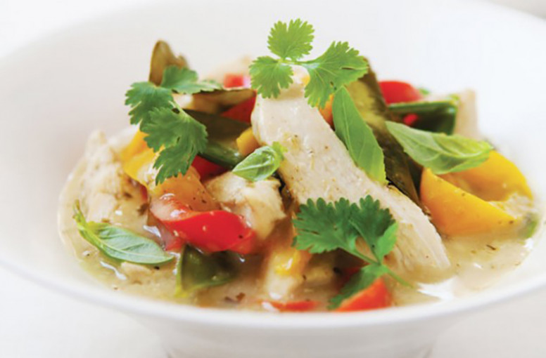 Hairy Bikers' Thai Chicken and Coconut Curry - Abundant Energy