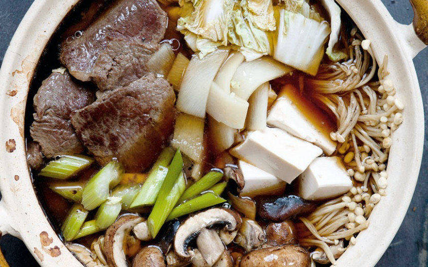 Hairy Bikers: Japanese beef sukiyaki recipe - Telegraph