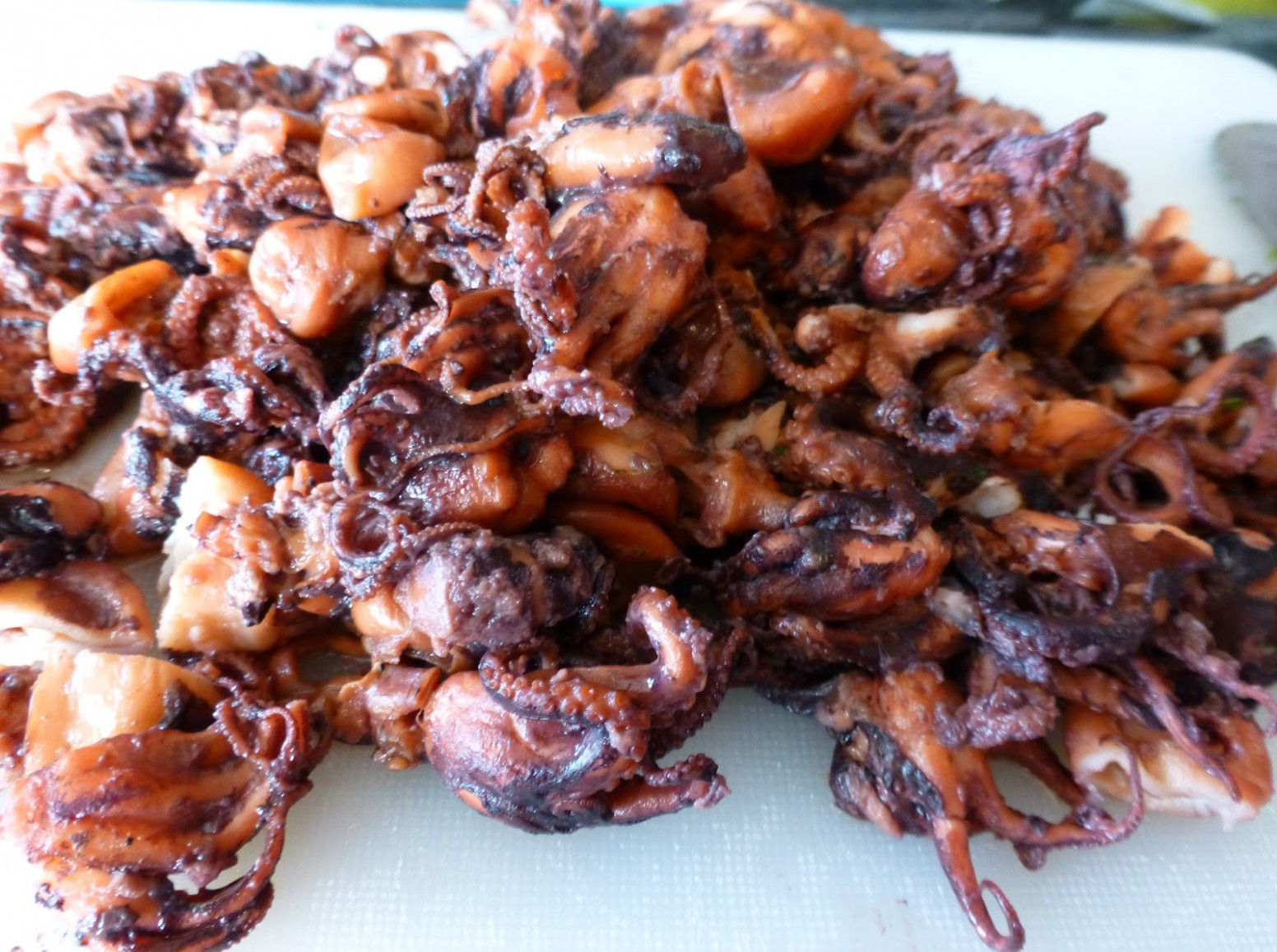 Halal Mama: Rice with Baby Octopus