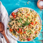 Halloumi Pasta With Tahini Dressing • The Cook Report