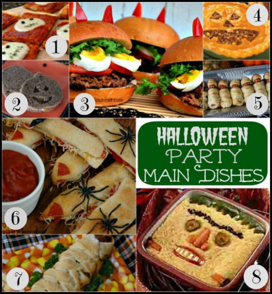 Halloween Party Food | Pocket Change Gourmet