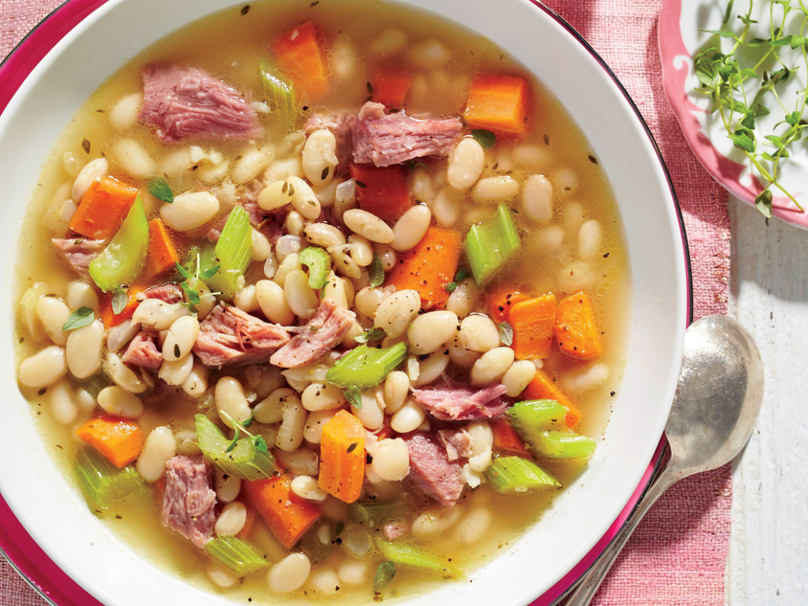 Ham-and-Bean Soup Recipe - Southern Living