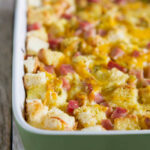 Ham and Cheese Easy Breakfast Casserole Recipe - Taste and ...