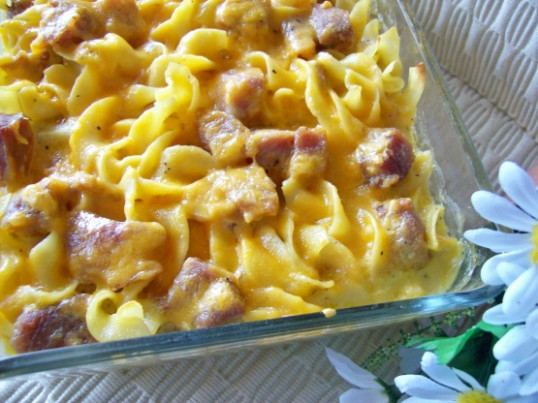 ham and pasta casserole recipes